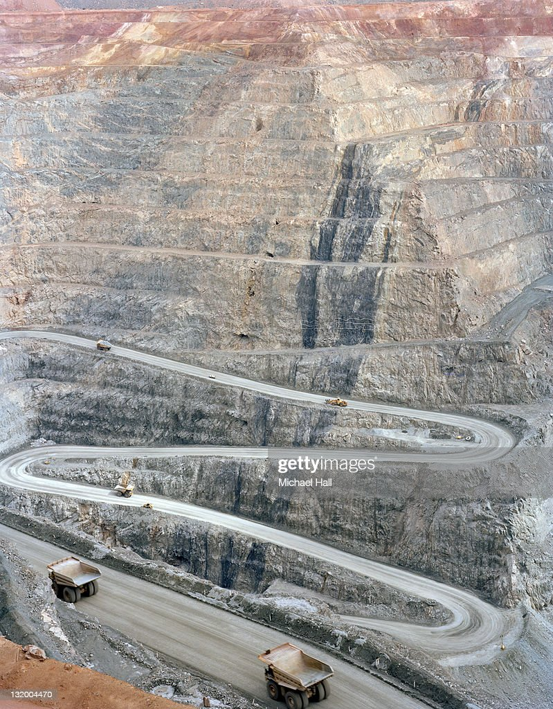 Kalgoorlie super pit : Foto de stock