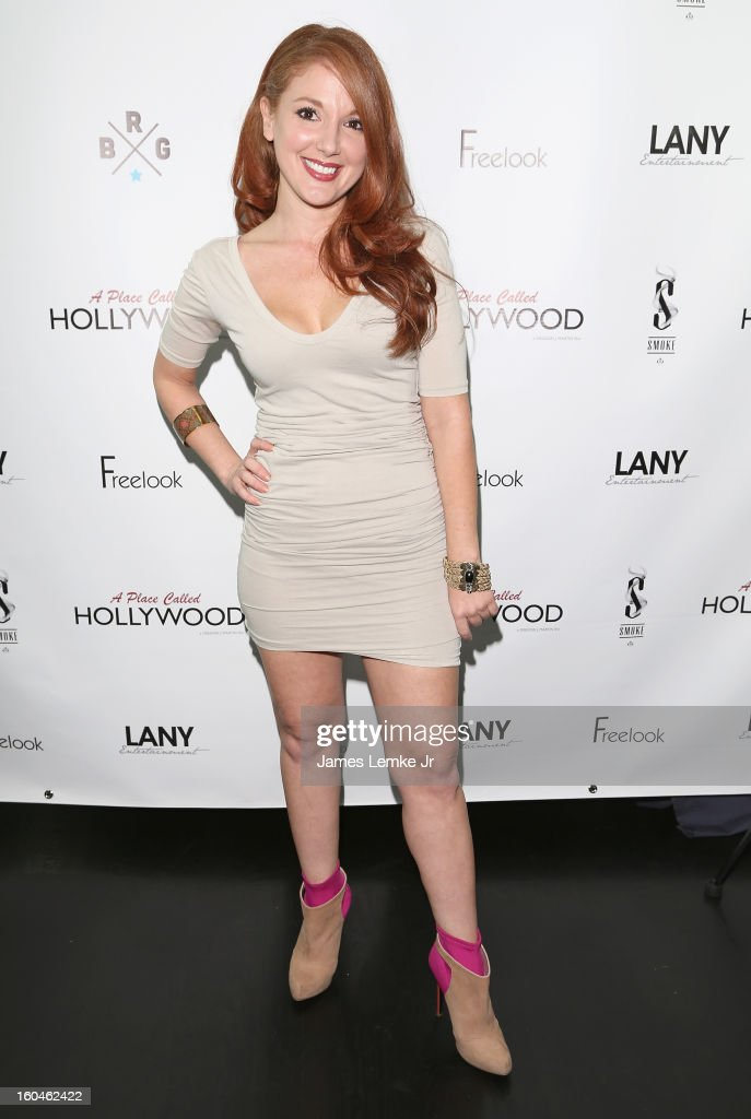 Kali Cook attends the 'A Place Called Hollywood' Official Wrap Party held at the Smoke Steakhouse on January 31, 2013 in West Hollywood, California.