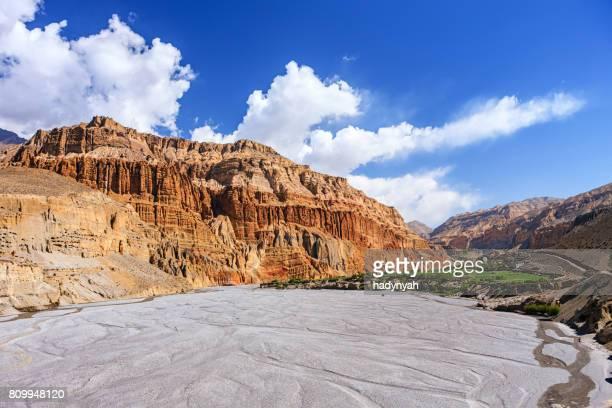 Kali Gandaki Gorge, Mustang, Nepal Himalaya