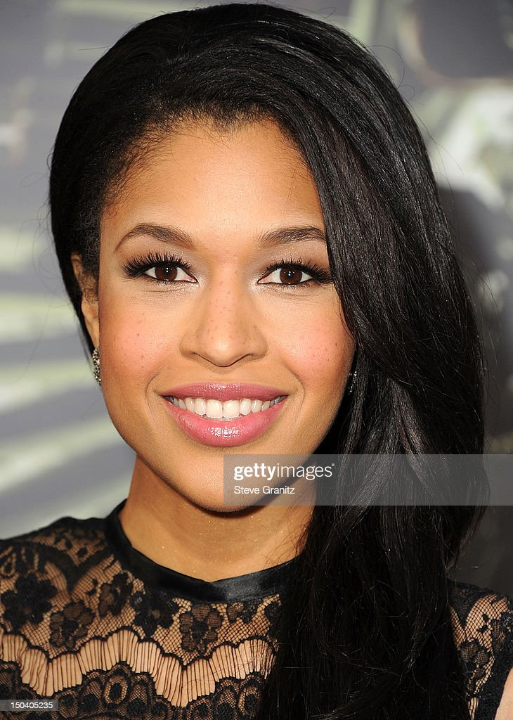Kali Hawk arrives at the 'The Expendables 2' - Los Angeles Premiere at Grauman's Chinese Theatre on August 15, 2012 in Hollywood, California.
