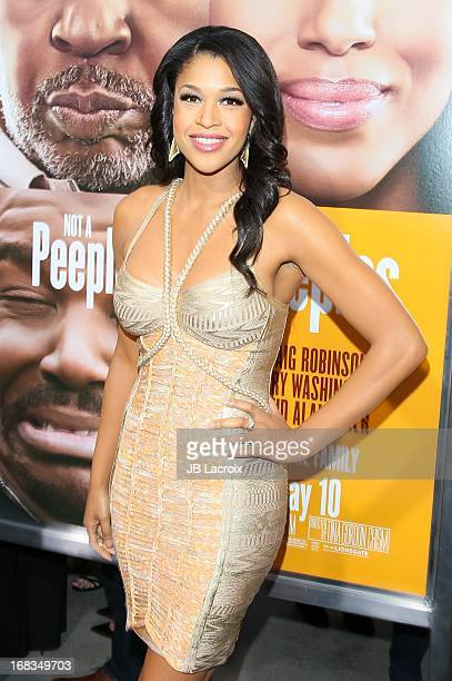 Kali Hawk attends the 'Peeples' Premiere held at ArcLight Hollywood on May 8 2013 in Hollywood California