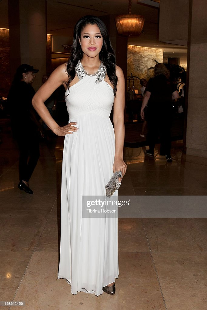 Kali Hawk attends the 'Shall We Dance' annual gala for the coalition for at-risk youth at The Beverly Hilton Hotel on May 11, 2013 in Beverly Hills, California.