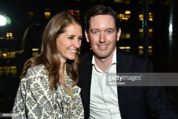 Kali Hundley and Mike Chipps attend The Junior Board of The TEAK Fellowship Presents A Midsummer Night at PhD Lounge at the Dream Downtown New York...