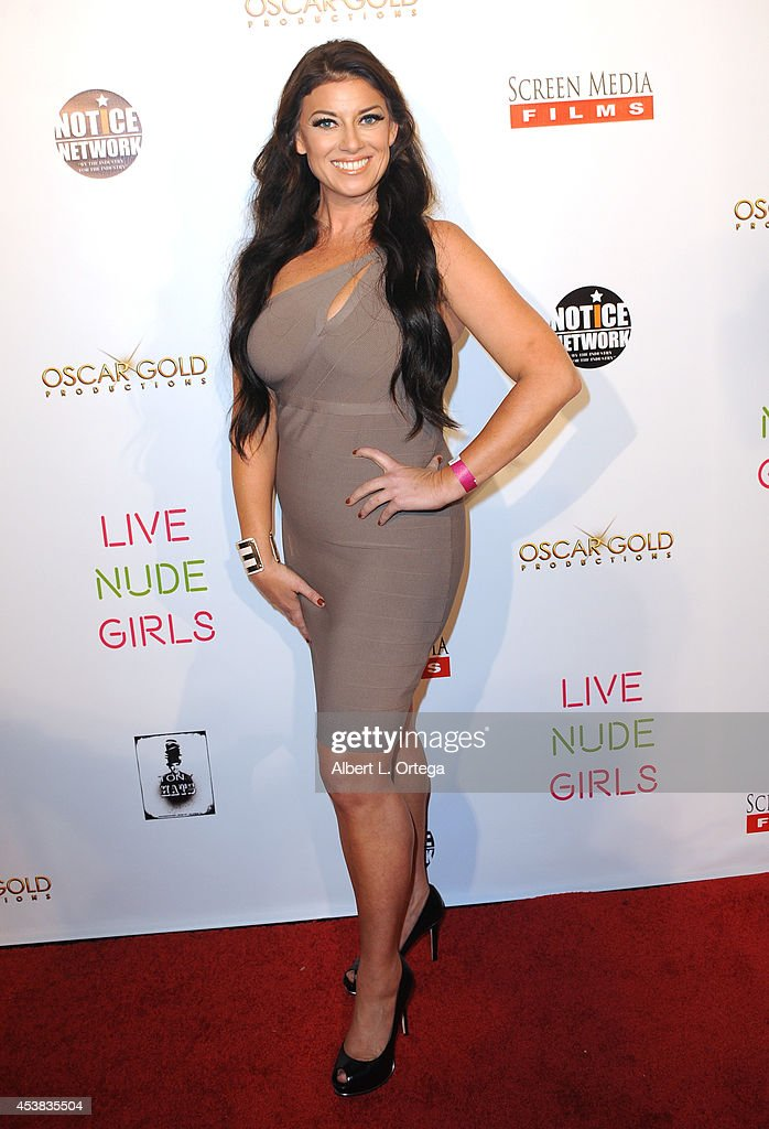 Kali Nolen arrives at the premiere of 'Live Nude Girls' held at Avalon on August 12, 2014 in Hollywood, California.