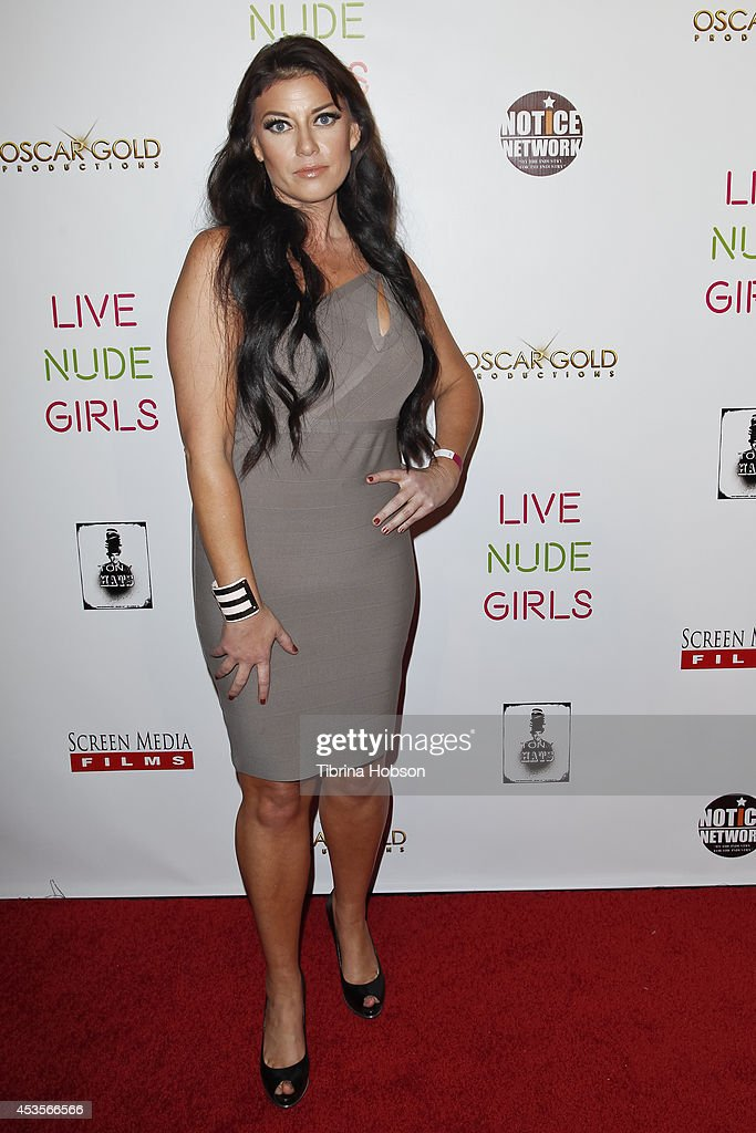 Kali Nolen attends the 'Live Nude Girls' premiere at Avalon on August 12, 2014 in Hollywood, California.