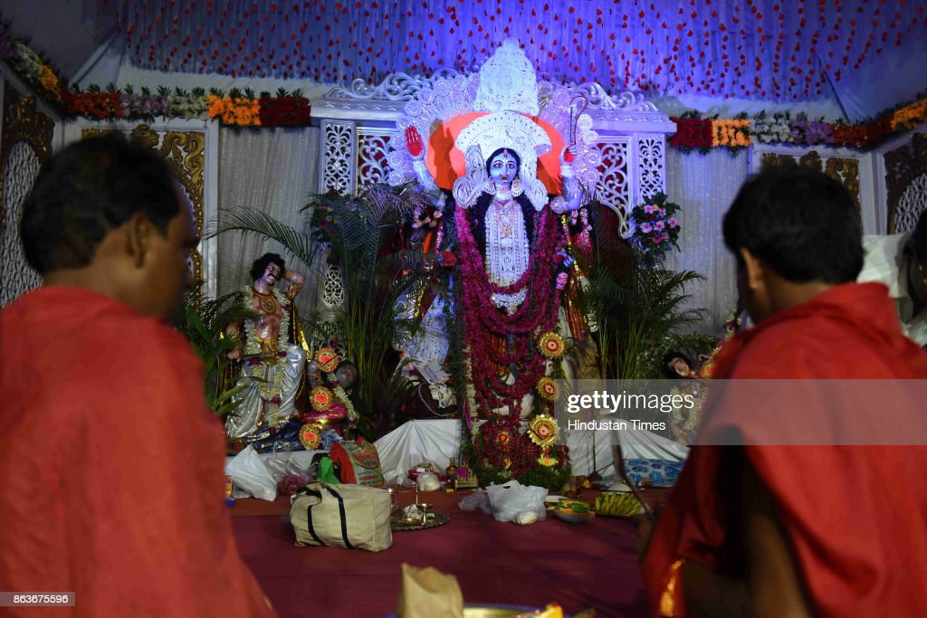 Kali Puja Celebration On The Occasion Of Diwali