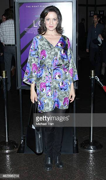 Kali Rocha arrives at the Los Angeles special screening of 'The Loft' held at Directors Guild of America on January 27 2015 in Los Angeles California