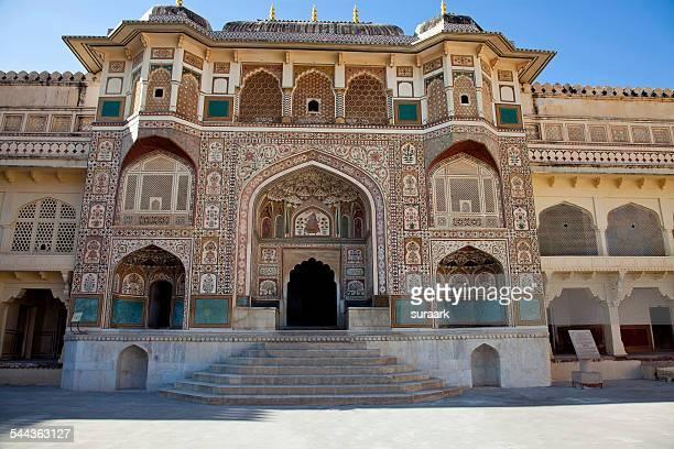 Kali Temple, Amber Palace, Jaipur, India.