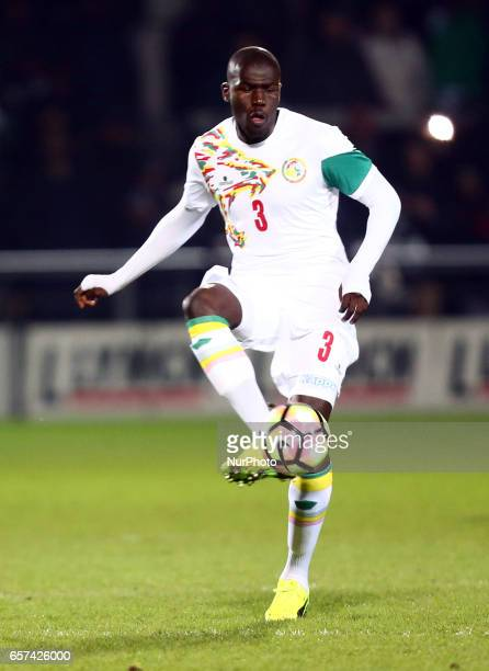 Kalidou Koulibaly of Senegal during International Friendly match between Nigeria against Senegal at The Hive Barnet FC on 23rd March 2017