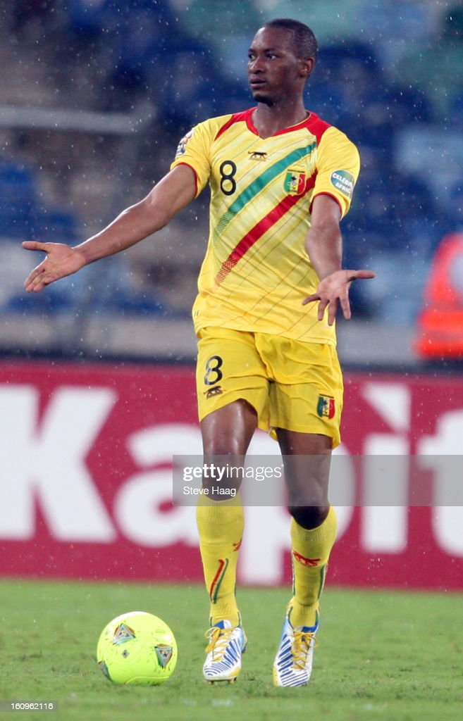 Kalilou Traore of Mali during the 2013 African Cup of Nations Semi-Final match between Mali and Nigeria at Moses Mahbida Stadium on February 06, 2013 in Durban, South Africa.