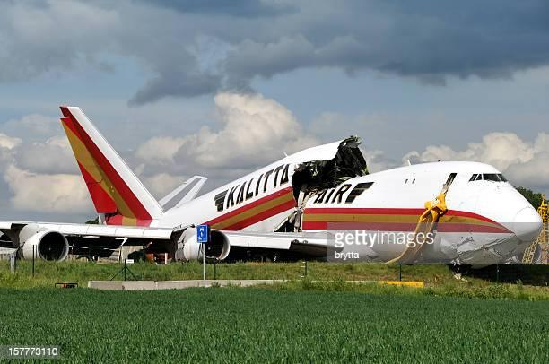 Kalitta Air Boeing 747 cargo crash in Brussels Airport, Belgium