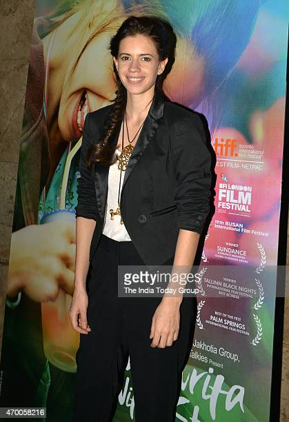 Kalki Koechlin at the special screening of the movie Margarita with a Straw in Mumbai