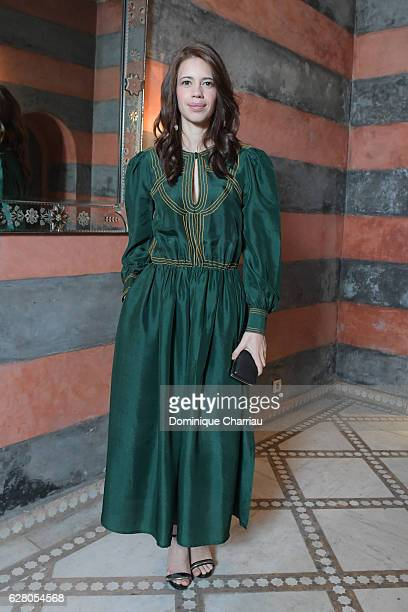 Kalki Koechlin attens the Dior Hosts Dinner At 16th Marrakech International Film Festival on December 4 2016 in Marrakech Morocco