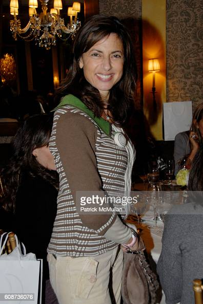 Kalliope Karella Rena attends MARIA HATZISTEFANIS presents GLAMOTOX at a glamorous upper east side luncheon at The Carlyle on December 3 2007 in New...