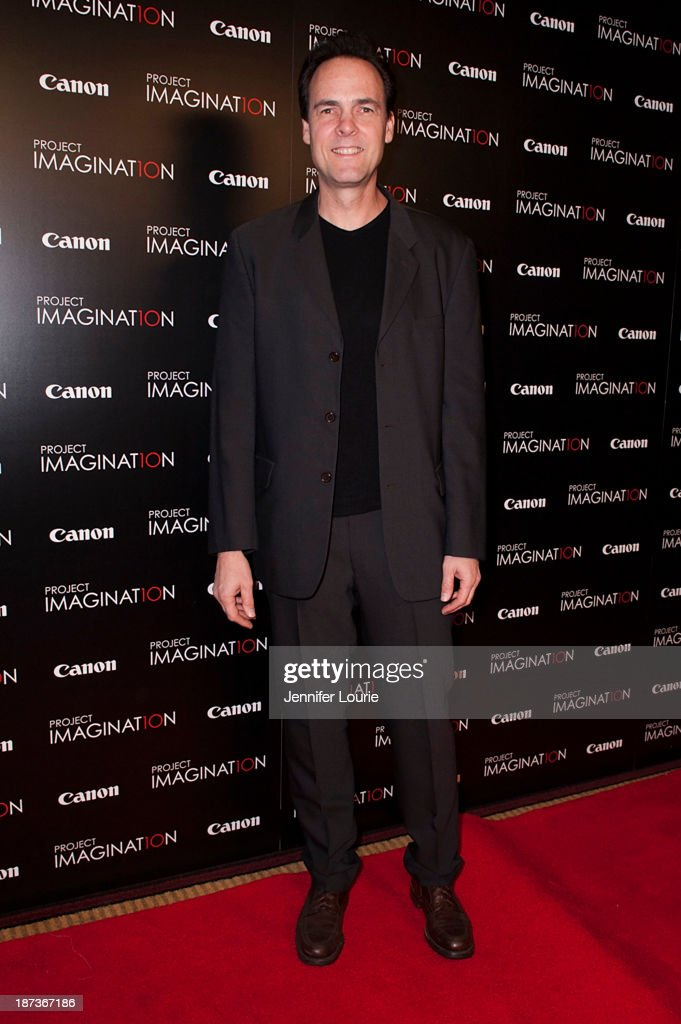 Kalman Apple attends the Los Angeles screening for Canon's 'Project Imaginat10n' film festival at Pacific Theatre at The Grove on November 7, 2013 in Los Angeles, California.