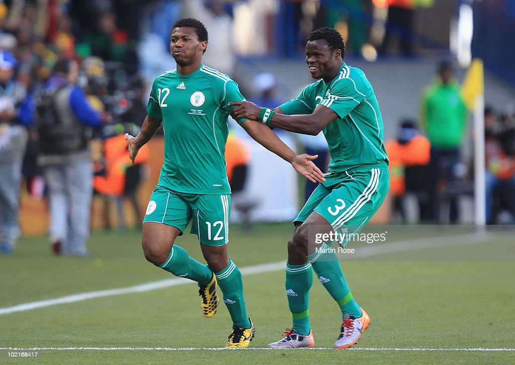 Greece v Nigeria: Group B - 2010 FIFA World Cup