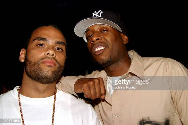 Kamal and Talib Kweli during Mobb Deep Presents 'Amerikaz Nightmare' Album Release at Spirit in New York City New York United States