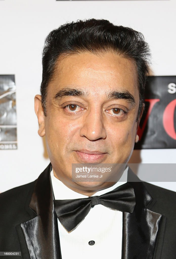 Kamal Haasan attends the 'Vishwaroopam' premiere held at the Pacific Theaters at the Grove on January 24 2013 in Los Angeles California