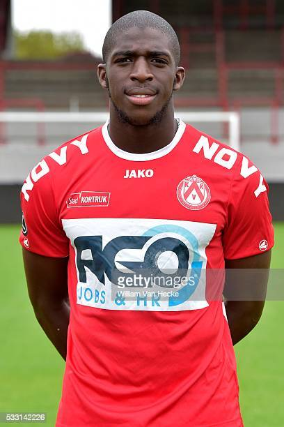 Kamara Aboubakar of Kortrijk pictured during the official team photoshoot of KV Kortrijk in Kortrijk Belgium