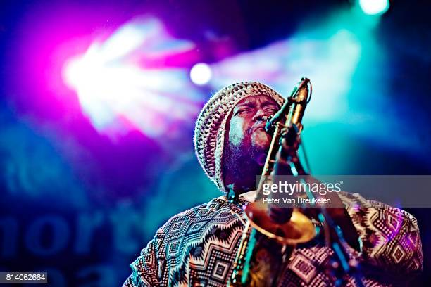 Kamasi Washington Performs at North Sea Jazz Festival on July 9th 2017 in Rotterdam The Netherlands