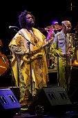 Kamasi Washington Performs in Concert in Barcelona