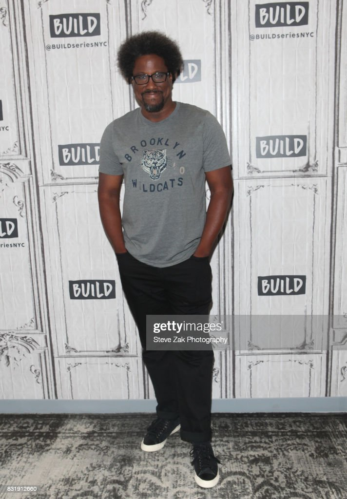 W. Kamau Bell attends Build Series to discuss Dove Men+Care at Build Studio on August 15, 2017 in New York City.