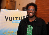 Kamau Bell attends Vulture Festival Comedy Night at The Bell House on May 11 2014 in New York City