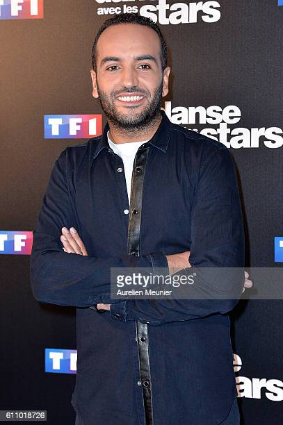 Kamel Le Magicien Mortreuil poses during the 'Danses With The Stars' photocall on September 28 2016 in Paris France