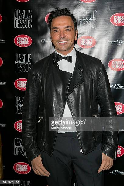 Kamel Ouali attends the 'Chantal Thomass Dessous Dessus' show Premiere at Le Crazy Horse on October 5 2016 in Paris France