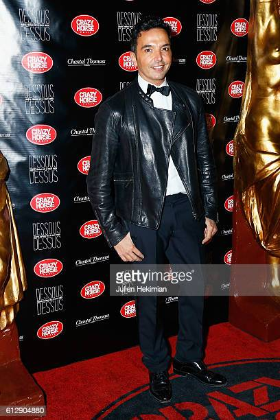 Kamel Ouali attends the Chantal Thomass' Show at Le Crazy Horse on October 5 2016 in Paris France