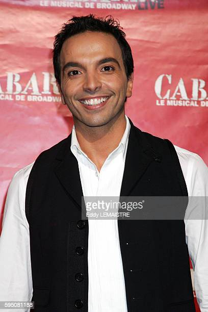 Kamel Ouali attends the gala premiere of the French version of the Broadway smash hit 'Cabaret' held at the Folies Bergere in Paris