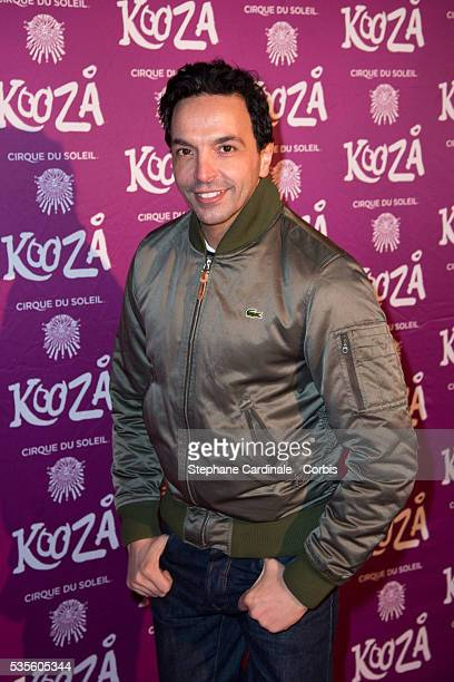 Kamel Ouali attends the premiere of the new show of 'Cirque du Soleil' Kooza in BoulogneBillancourt