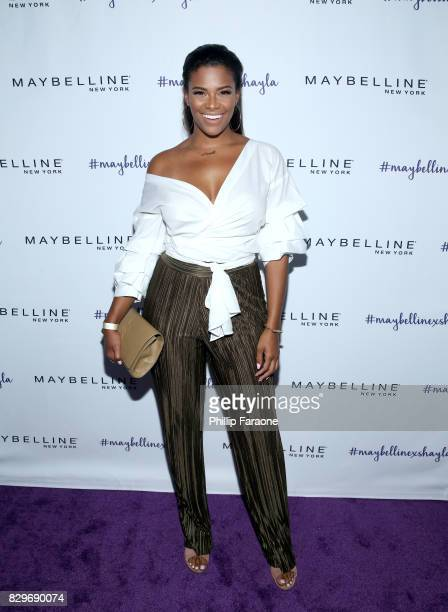 Kamie Crawford attends Maybelline New York Celebrates First Ever Cobranded Product Collection With Beauty Influencer Shayla Mitchell at 1OAK on...