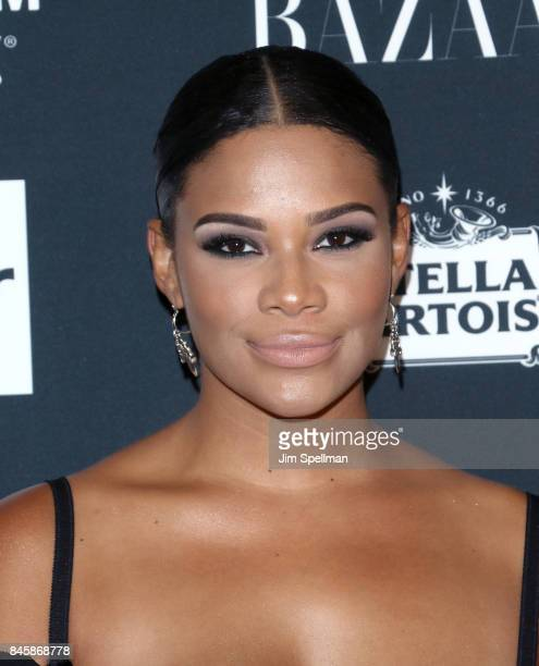 Kamie Crawford attends the 2017 Harper's Bazaar Icons at The Plaza Hotel on September 8 2017 in New York City