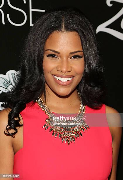 Kamie Crawford attends the Venue Magazine Official Miss Universe after party at Trump National Doral on January 25 2015 in Doral Florida