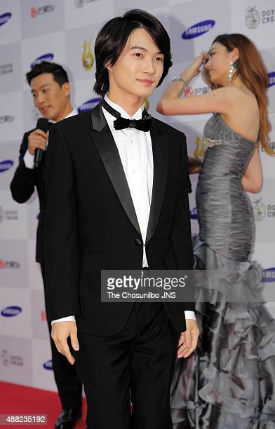 Kamiki Ryunosuke attends the 10th Seoul International Drama Awards 2015 at MBC on September 10 2015 in Seoul South Korea