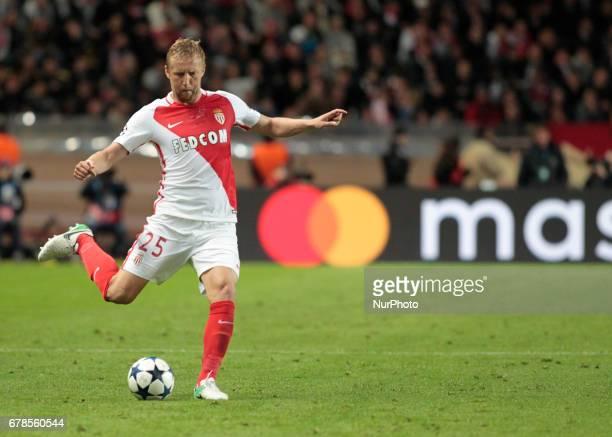 Kamil Glik during Champions League Semifinals match between Juventus v Monaco in Principality of Monaco on may 3 2017
