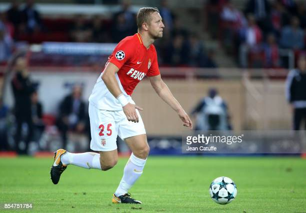 Kamil Glik of Monaco during the UEFA Champions League group G match between AS Monaco and FC Porto at Stade Louis II on September 26 2017 in Monaco...