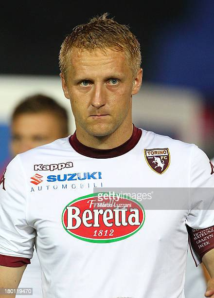 Kamil Glik of Torino FC during the Serie A match between Atalanta BC and Torino FC at Stadio Atleti Azzurri d'Italia on September 1 2013 in Bergamo...