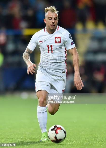 Kamil GrosickiFootball 'FIFA 2018 World Cup Qualifying game between Montenegro and Poland'Kamil Grosicki'Credit Lukasz Laskowski / PressFocus