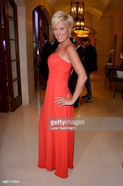 Kamilla Senjo attends Felix Burda Award 2014 at Hotel Adlon on April 6 2014 in Berlin Germany