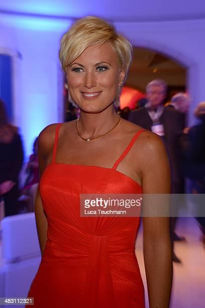 Kamilla Senjo attends Felix Burda Award 2014 at Hotel Adlon on April 6 2014 in Berlin Germany