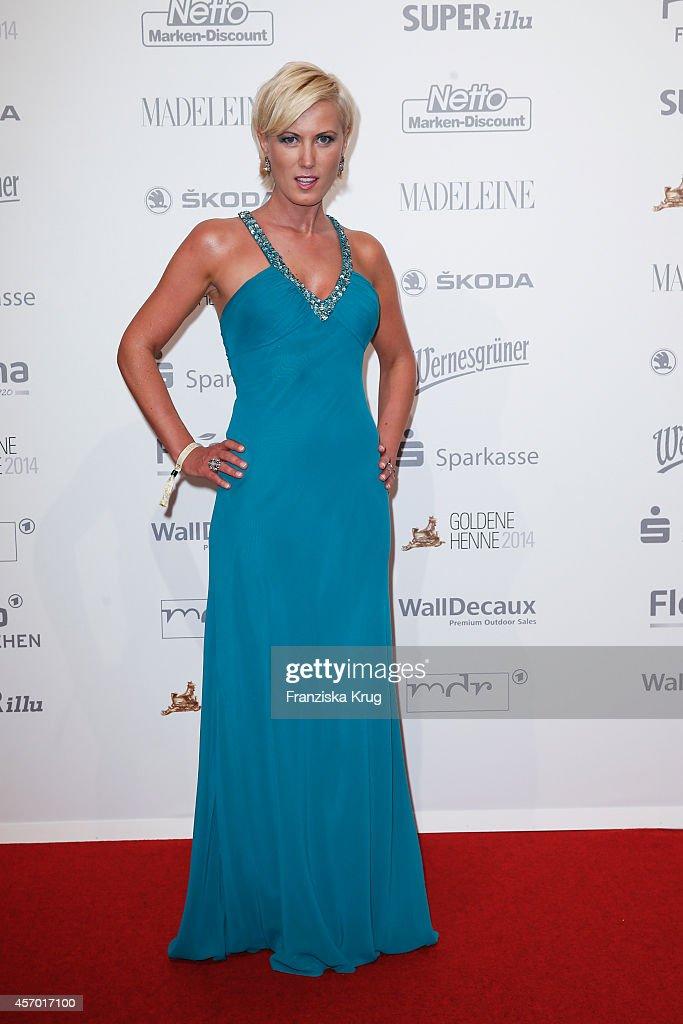 Kamilla Senjo attends Madeleine at Goldene Henne 2014 on October 10 2014 in Leipzig Germany