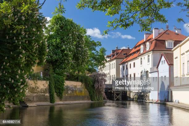 Kampa Water Wheel, Prague