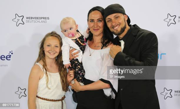 Kampfkunst Lifestyle Familie attends the Webvideopreis Deutschland 2017 at ISS Dome on June 1 2017 in Duesseldorf Germany