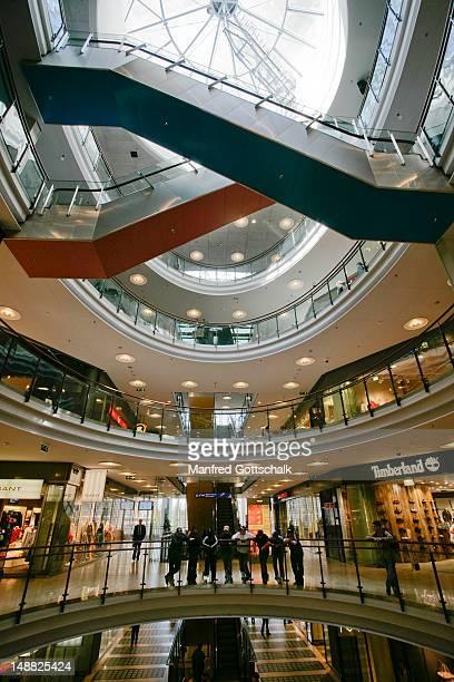 Kamppi travel and shopping centre interior.