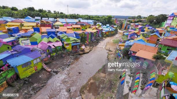 Kampung Warna Warni Jodipan Malang.