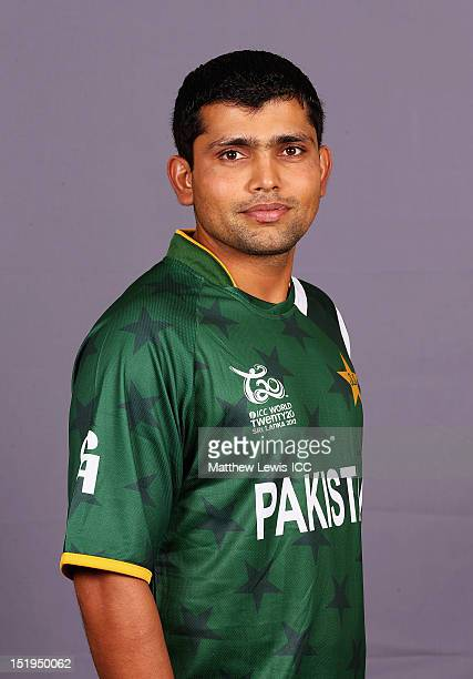 Kamran Akmal of Pakistan pictured during a Pakistan Portrait Session ahead of the ICC T20 World Cup at the Cinnamon Grand Hotel on September 13 2012...