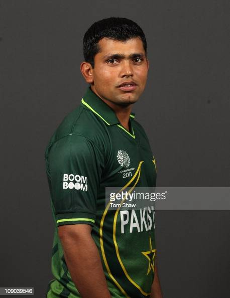 Kamran Akmal of Pakistan poses for a portrait during the Pakistan Portrait session at the Sheraton Hotel on February 13 2011 in Dhaka Bangladesh