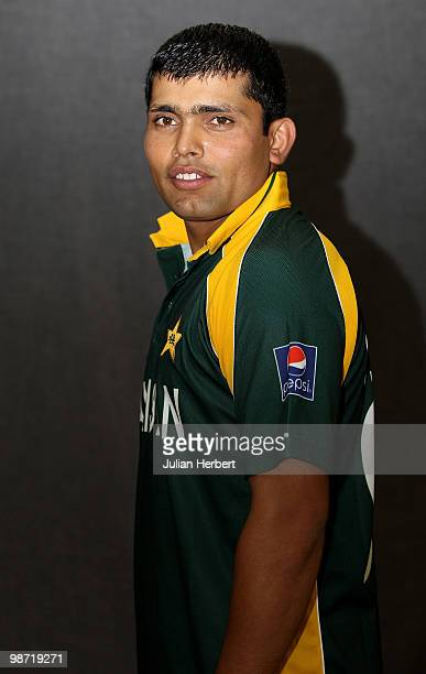 Kamran Akmal of The Pakistan Twenty20 squad poses for a portrait on April 26 2010 in Gros Islet Saint Lucia